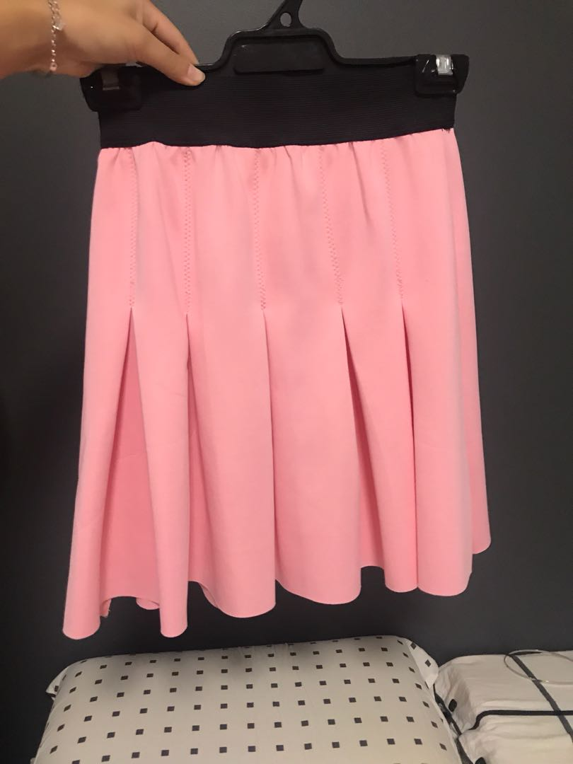 Pink Tennis Style Skirt