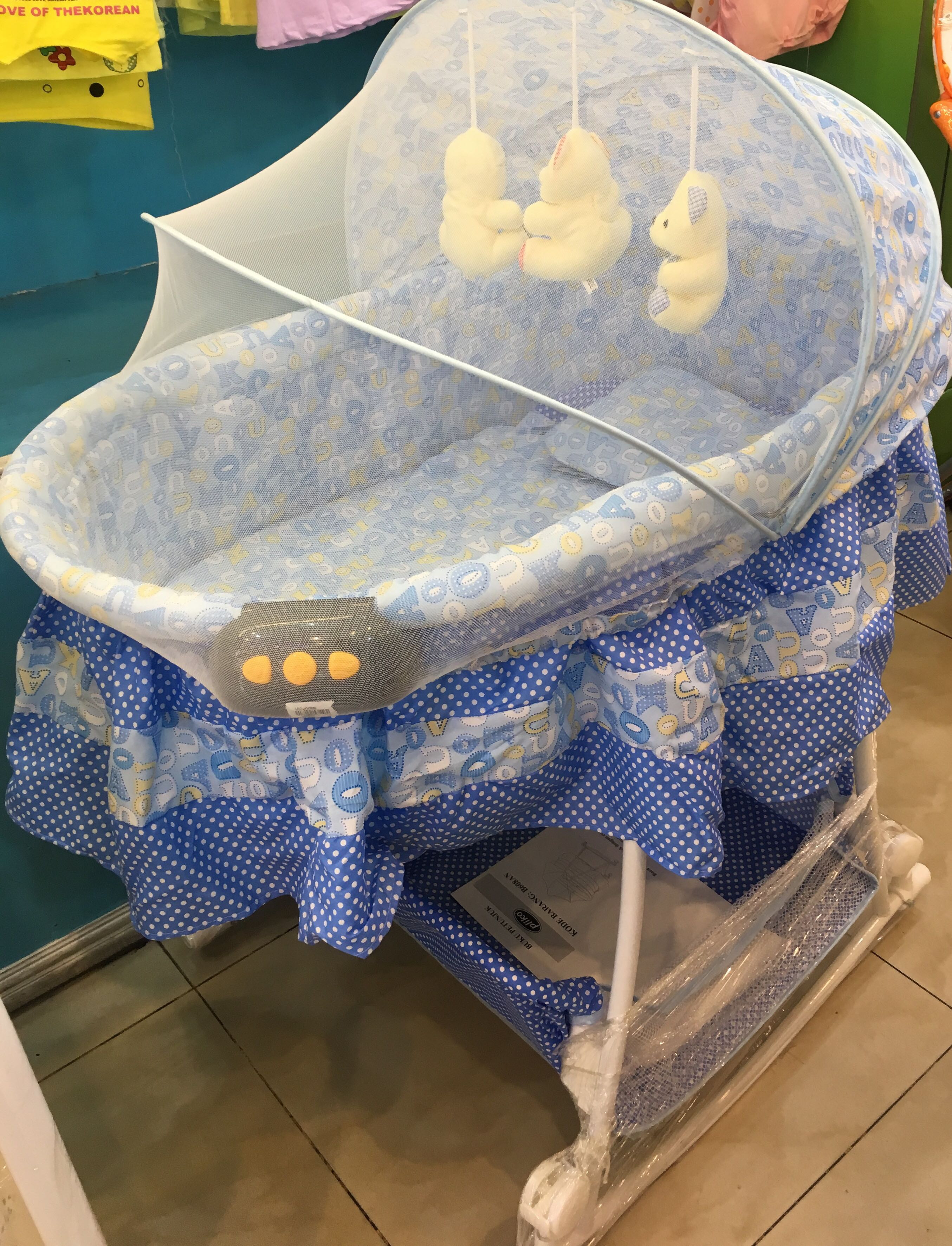 Pliko Box Bassinet / baby bed 608