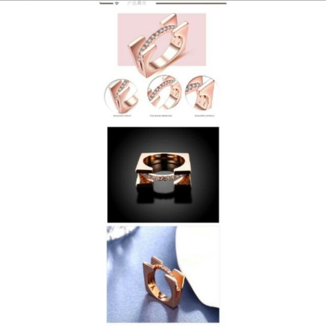 P`O  by Amazon  Cincin sz 6 7 8 9 10