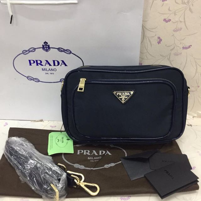 3b2954de9795c7 ... promo code for prada sling bag preloved womens fashion bags wallets on  carousell 37ca4 dc1bc
