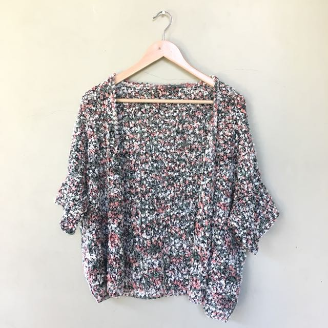 PREMIUM Knitted Flower Outer