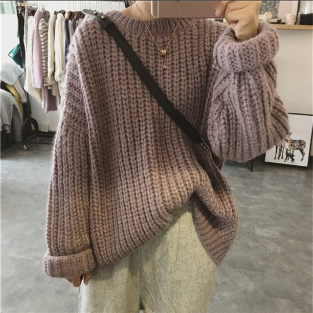 PREORDER Knitted Oversized Sweater
