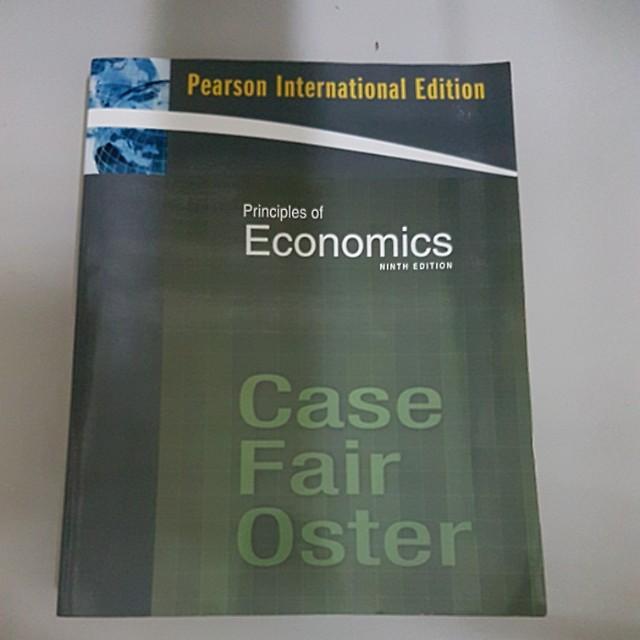 Principles of Economics ninth edition經濟學原文書#出清課本