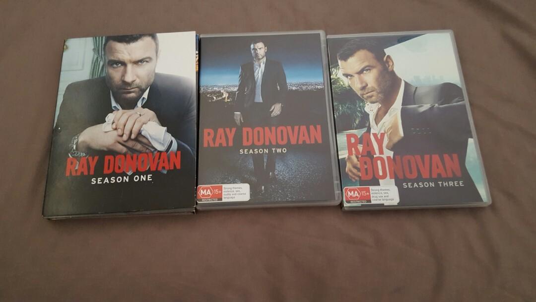 Ray donovan seasons 1-3