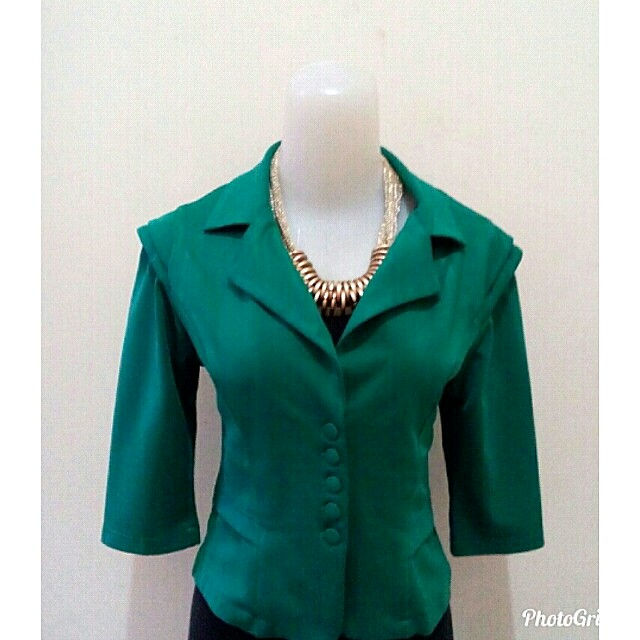 Sale Green Blazer