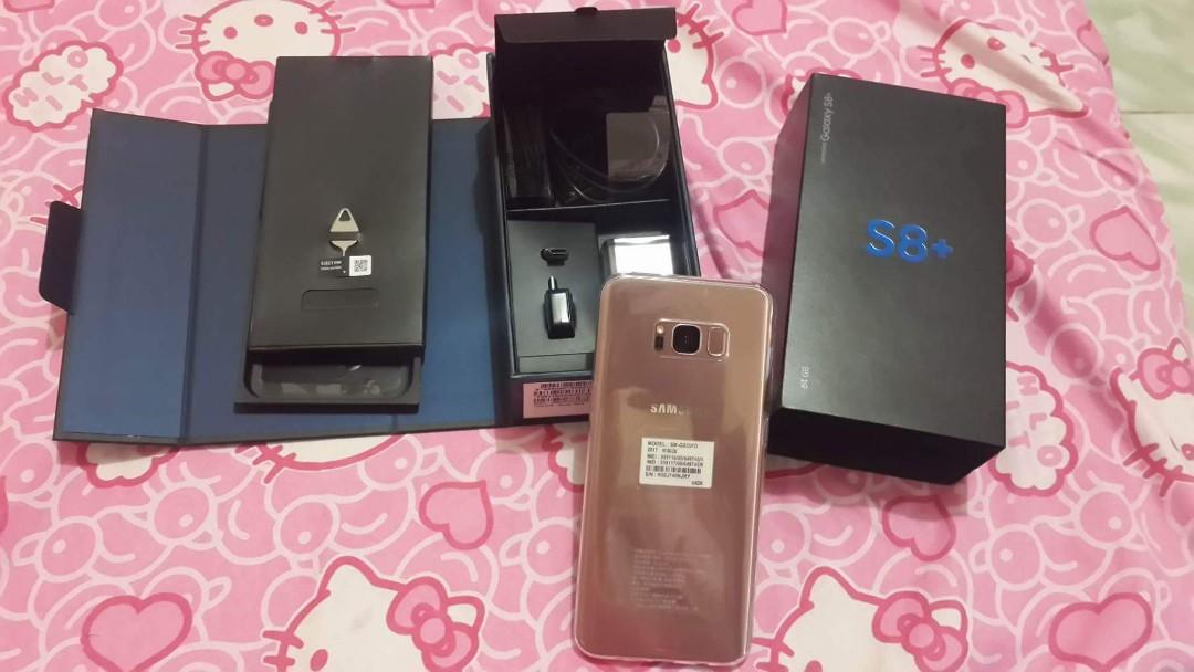Samsung S8 Plus 64gb pink