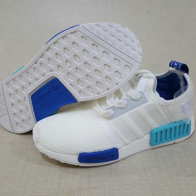 5d44d2d9fde6a Sepatu Adidas NMD R1 White