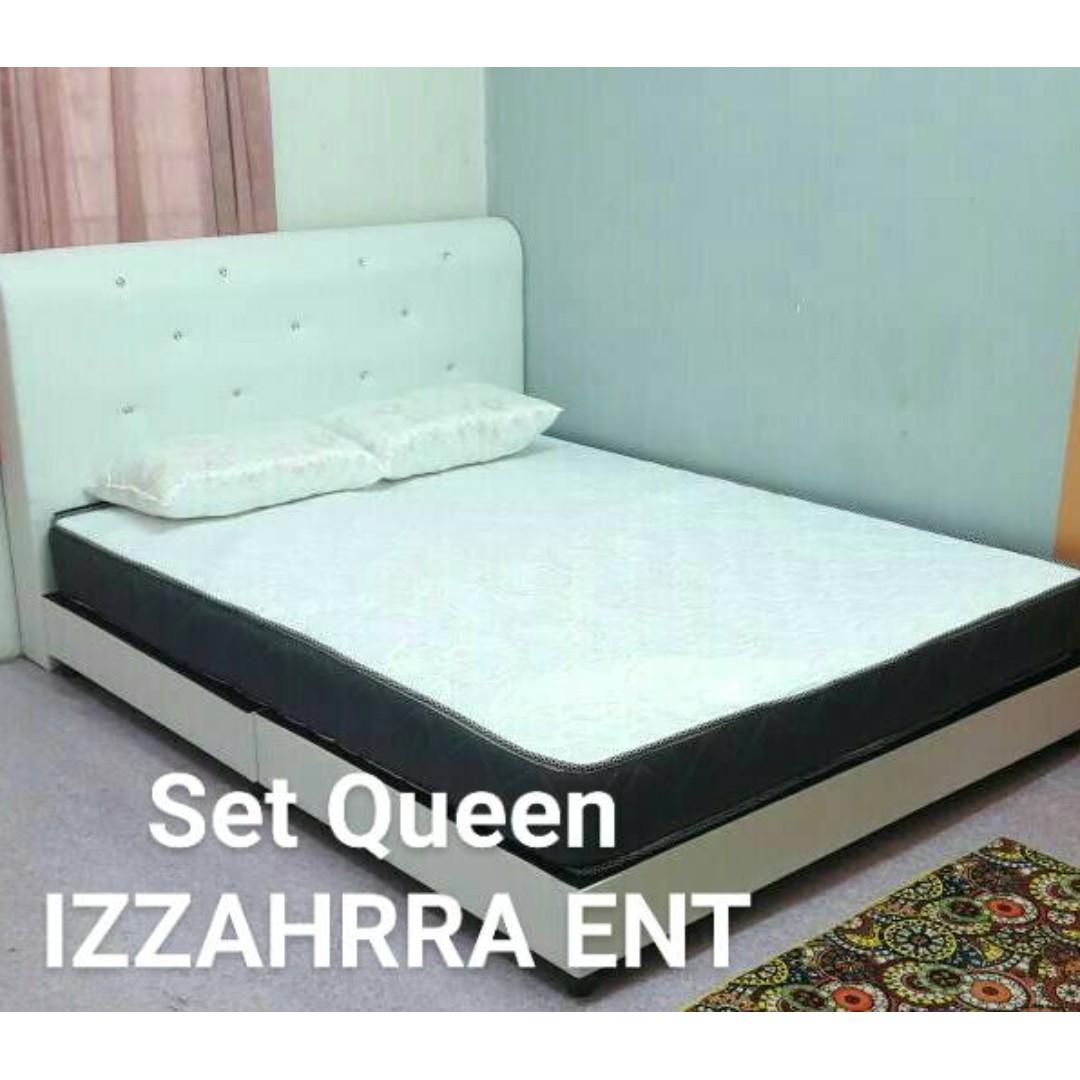 Set Combo Katil Divan Queen Dan Tilam Rm 600 Terlajak Murah Home Furniture Others On Carou