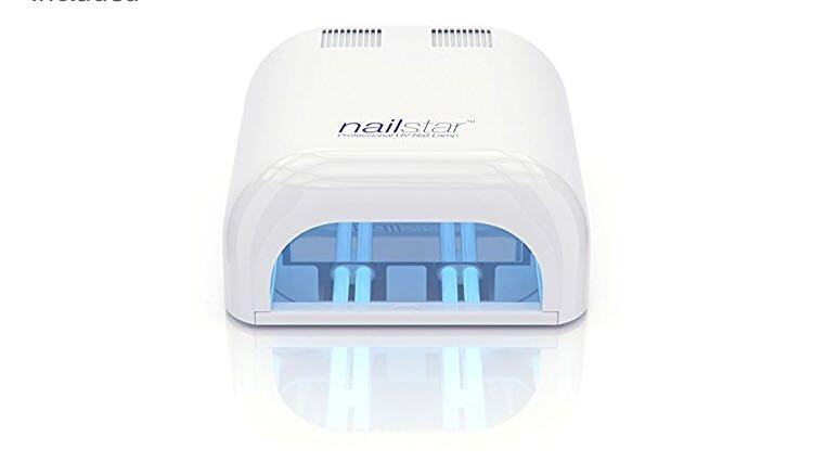 Shallac Nail Kit with 6 nail polishes