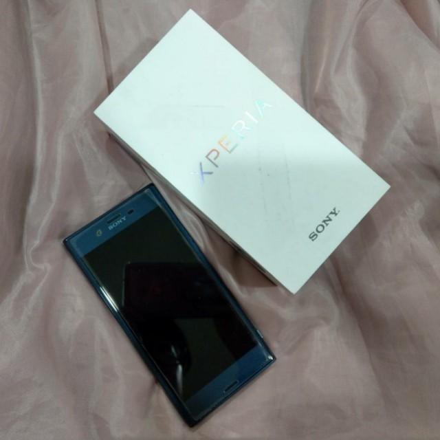 Sony Xperia XZ 澗水藍 藍 限定