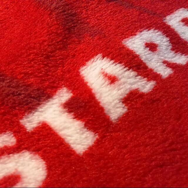 全新!Starbucks 星巴克 紅色耶誕保暖毛毯