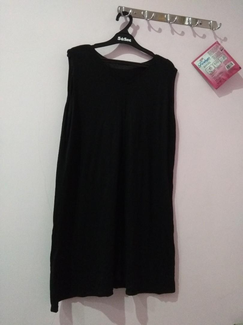 tank dress black