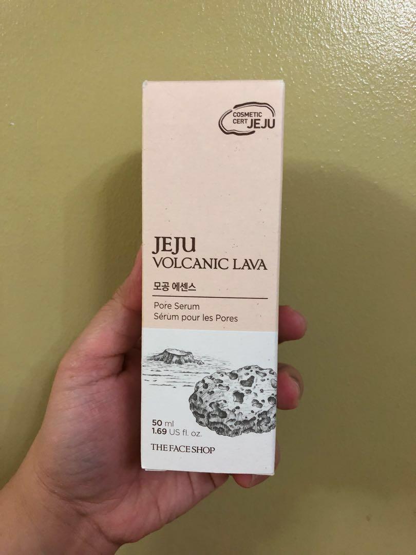 The Face Shop Jeju Volcanic Lava Pore Serum
