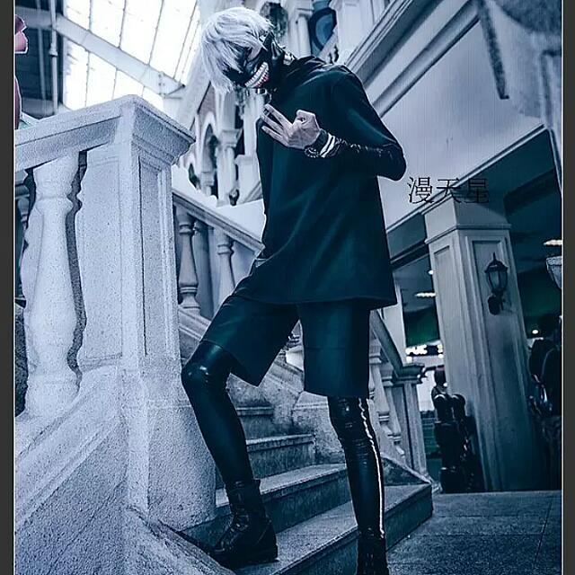 22d175950 Tokyo Ghoul Kaneki Cosplay Costume, J-pop on Carousell