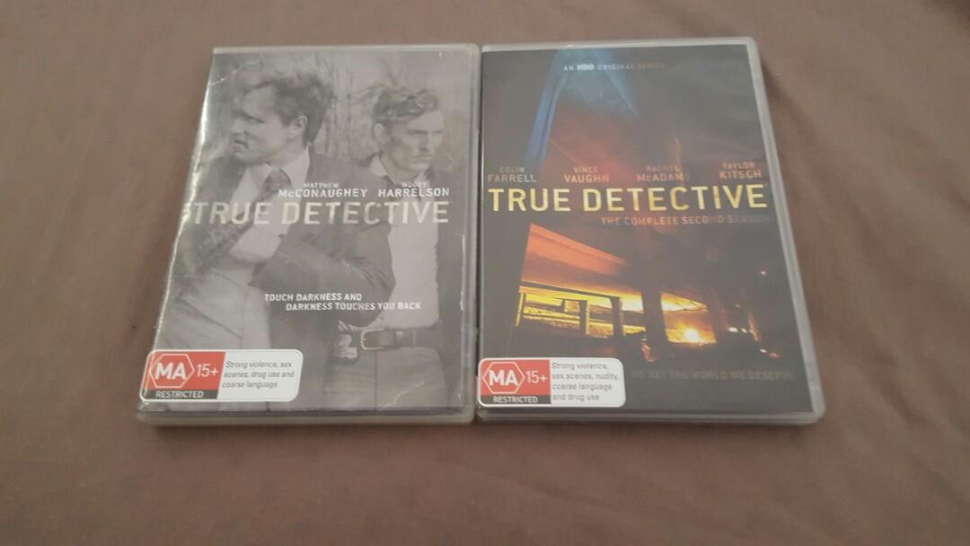 True detective seasons 1-2