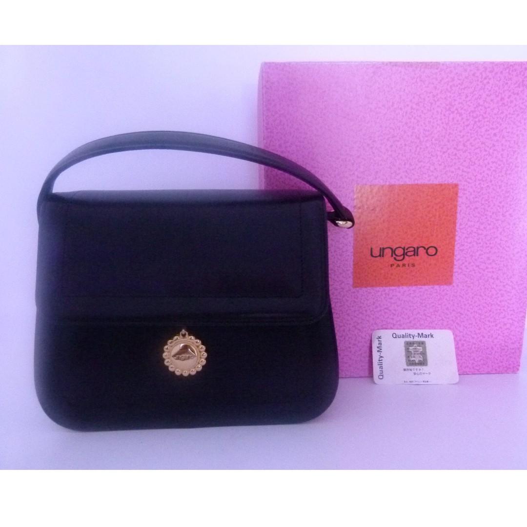 UNGARO HANDBAG WITH BOX