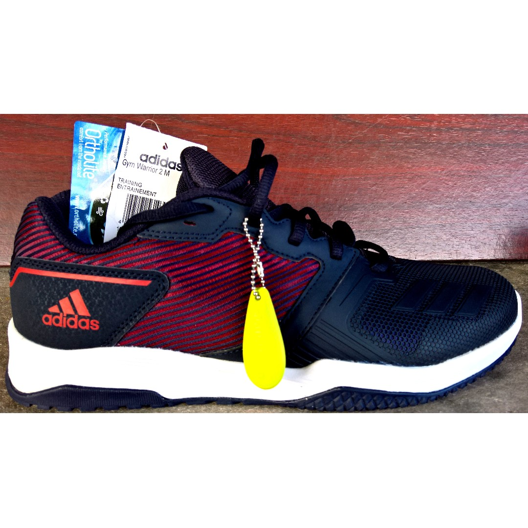 utilizzato con tag) adidas palestra warrior 2 m, cross - trainer