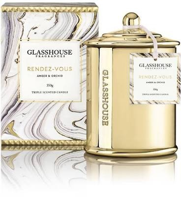 WANTED: Glasshouse Candle Rendez-vous Amber & Orchid