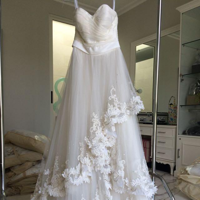 Wedding Dress Gaun Pengantin Eropa Women S Fashion Women S Clothes