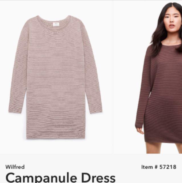 Wilfred Campanule Dress - size xs