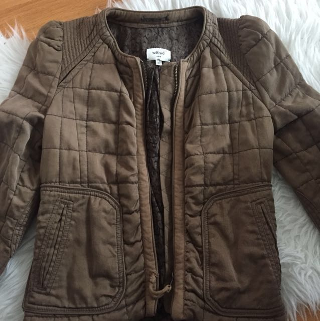Wilfred Quilted Jacket