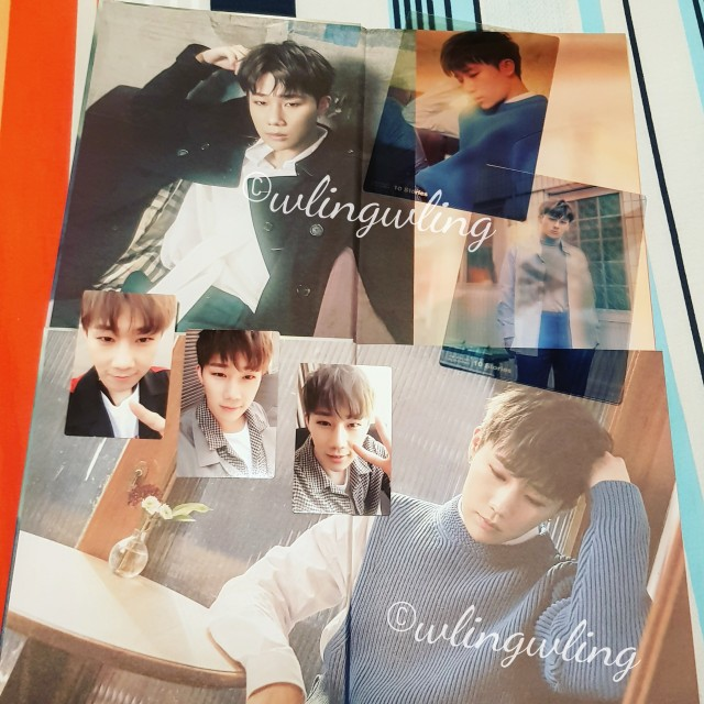 Wtt Looking For Kim Sung Kyu 1st Album 10 Stories Entertainment K Wave On Carousell