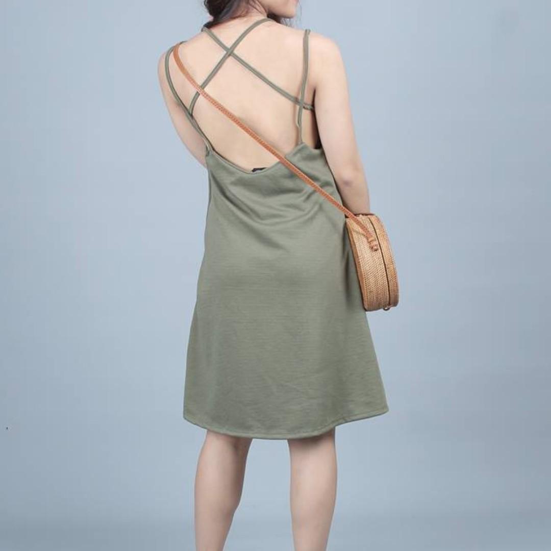 X Back Dress