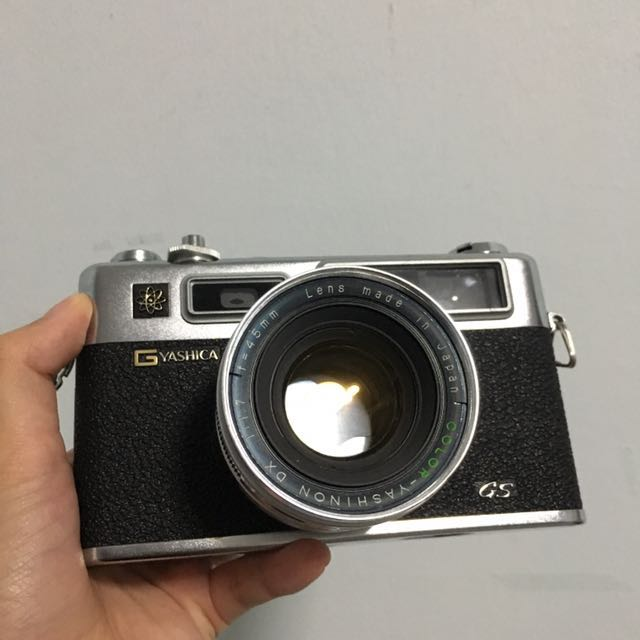 Yashica 35 GS 35mm film camera