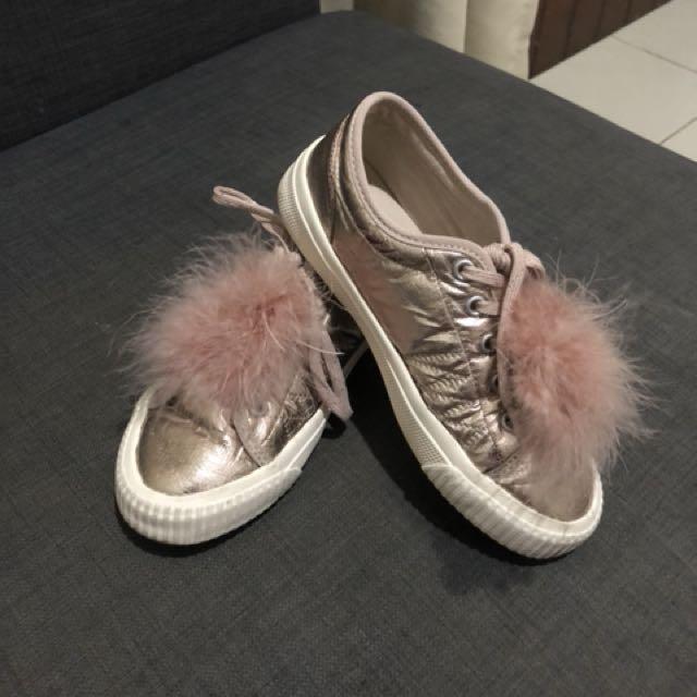Zara Girls Sneaker #MakinTebel