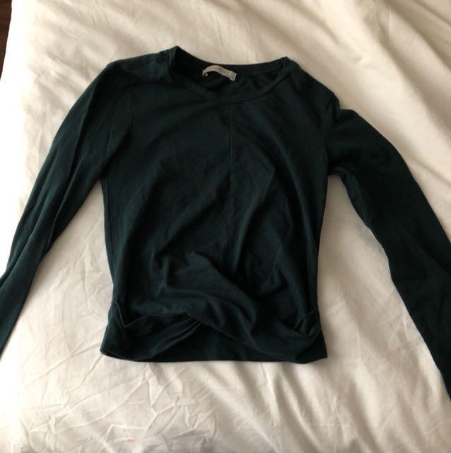 Zara Long Sleeve Crop