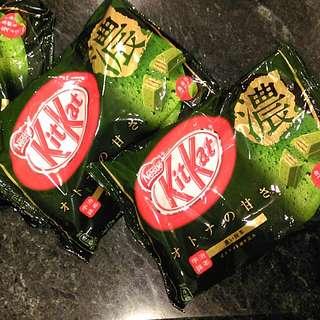 Kit Kat 特濃抹茶巧克力餅乾 <京都帶回>