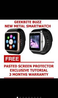 Geek Bite Buzz Metal Smart Watch