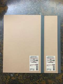 Muji A4 7mm Notebook x 2