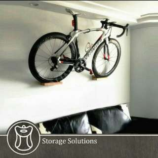 Designer Bike Wall Display Rack