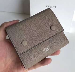 Celine folded wallet