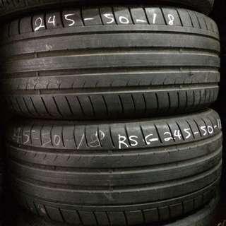 Used Dunlop Sport Maxx GT Runflat 245/50/18