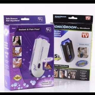 (2件/2pieces) 光感脫毛拔毛器剃毛器去毛器 (包Buyup自取站取貨) (elecone系列) (light technology hair remover)