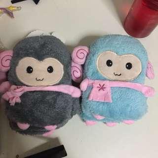 Cute little lamb mittens for winter