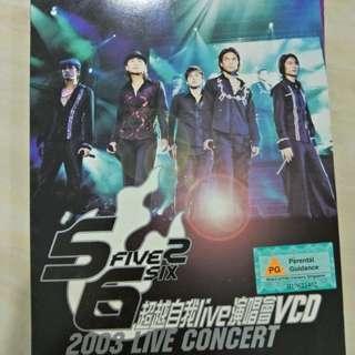 5566 VCR 1st Concert