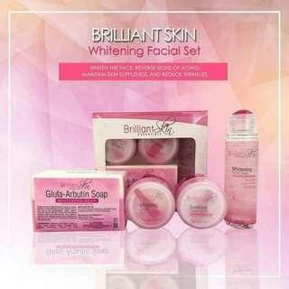 Brilliant Whitening Facial Set/ Maintenance Set