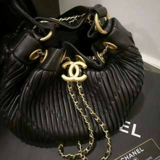Chanel drawstring bag