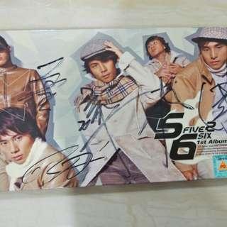 5566 1st Album CD (Autography)