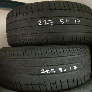 Used Michelin 225/50/17 Tyre