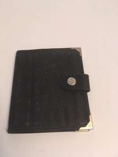 Authentic vintage Fendi bifold  small wallet