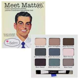 meet matte eyeshadow palette