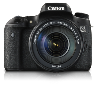 Canon EOS 760D (c/w) EF-S 18-135mm IS STM Kit