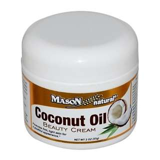 Naturals Coconut Oil Beauty Cream, 2 oz (57 g) Anti Aging Youthful Looking