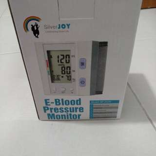 E Blood Pressure Monitor