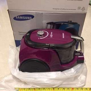 全新SAMSUNG紫色吸塵機,不議價