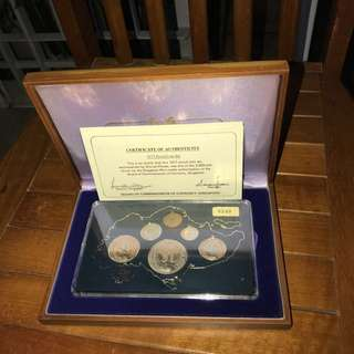 1977 Proof Coin Set